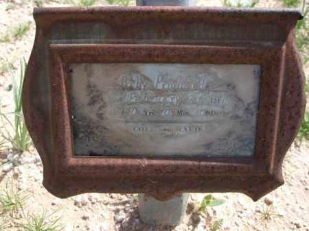 PRITCHARD, BABY - Pinal County, Arizona   BABY PRITCHARD - Arizona Gravestone Photos