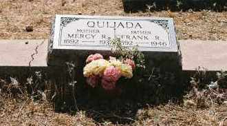 QUIJADA, FRANK R. - Pinal County, Arizona | FRANK R. QUIJADA - Arizona Gravestone Photos