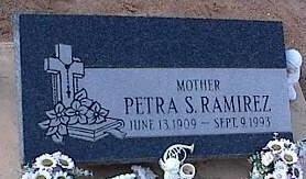 RAMERIZ, PETRA S. - Pinal County, Arizona   PETRA S. RAMERIZ - Arizona Gravestone Photos