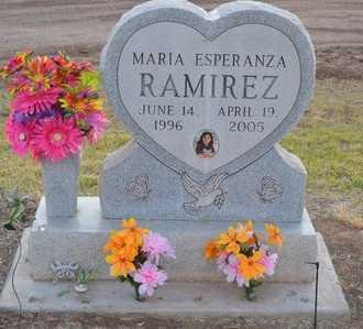 RAMIREZ, MARIA ESPERANZA - Pinal County, Arizona | MARIA ESPERANZA RAMIREZ - Arizona Gravestone Photos