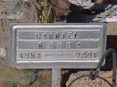 RAMOS, GABRIEL - Pinal County, Arizona | GABRIEL RAMOS - Arizona Gravestone Photos