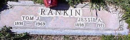 RANKIN, TOM J. - Pinal County, Arizona | TOM J. RANKIN - Arizona Gravestone Photos