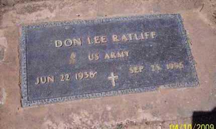 RATLIFF, DON LEE - Pinal County, Arizona | DON LEE RATLIFF - Arizona Gravestone Photos