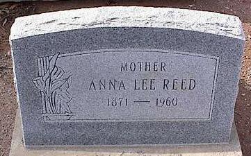 REED, ANNA LEE - Pinal County, Arizona | ANNA LEE REED - Arizona Gravestone Photos