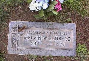 REHBERG, MELVIN W. - Pinal County, Arizona   MELVIN W. REHBERG - Arizona Gravestone Photos
