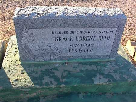 REID, GRAVE LORENE - Pinal County, Arizona | GRAVE LORENE REID - Arizona Gravestone Photos