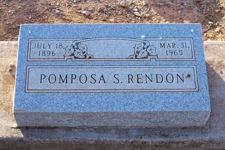 RENDON, POMPOSA S. - Pinal County, Arizona | POMPOSA S. RENDON - Arizona Gravestone Photos