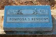 RENDON, POMPOSA - Pinal County, Arizona | POMPOSA RENDON - Arizona Gravestone Photos