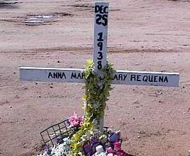 REQUENA, ANNA MARIA MARY - Pinal County, Arizona   ANNA MARIA MARY REQUENA - Arizona Gravestone Photos