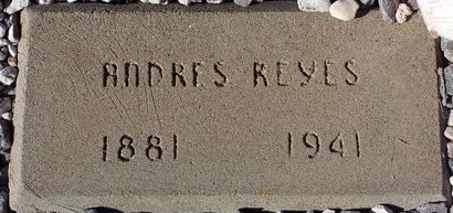 REYES, ANDRES - Pinal County, Arizona | ANDRES REYES - Arizona Gravestone Photos