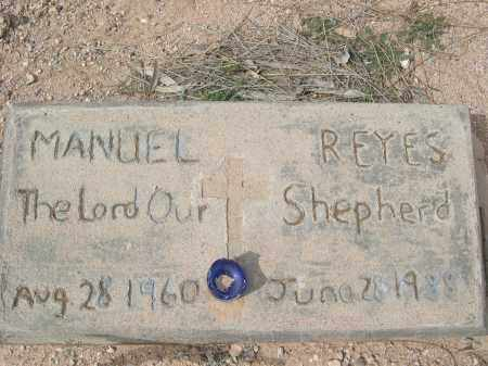 REYES, MANUEL - Pinal County, Arizona | MANUEL REYES - Arizona Gravestone Photos