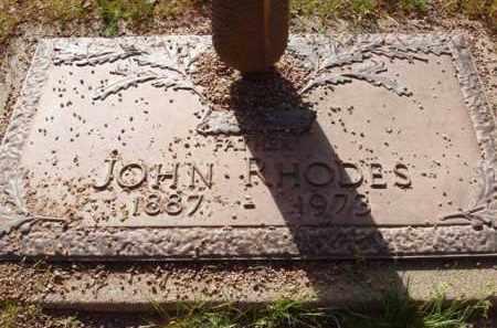 RHODES, JOHN - Pinal County, Arizona | JOHN RHODES - Arizona Gravestone Photos