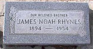 RHYNES, JAMES NOAH - Pinal County, Arizona   JAMES NOAH RHYNES - Arizona Gravestone Photos
