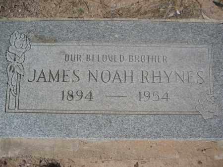 RHYNES, JAMES NOAH - Pinal County, Arizona | JAMES NOAH RHYNES - Arizona Gravestone Photos