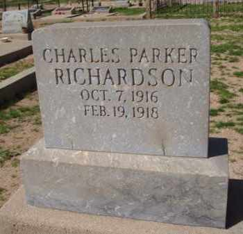RICHARDSON, CHARLES PARKER - Pinal County, Arizona   CHARLES PARKER RICHARDSON - Arizona Gravestone Photos