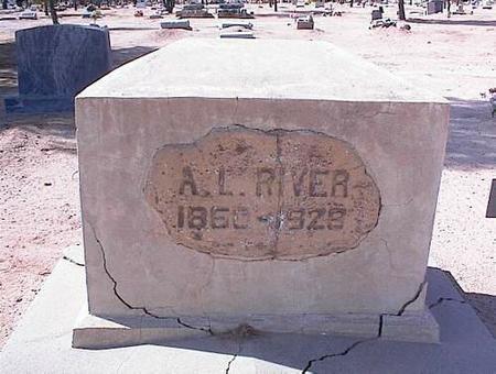 RIVER, ABRAHAM LINCOLN - Pinal County, Arizona | ABRAHAM LINCOLN RIVER - Arizona Gravestone Photos