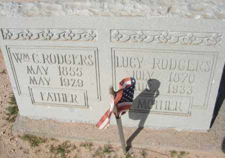 RODGERS, LUCY - Pinal County, Arizona | LUCY RODGERS - Arizona Gravestone Photos