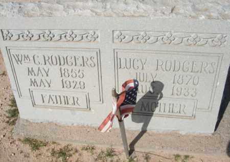 RODGERS, WM. G. - Pinal County, Arizona | WM. G. RODGERS - Arizona Gravestone Photos