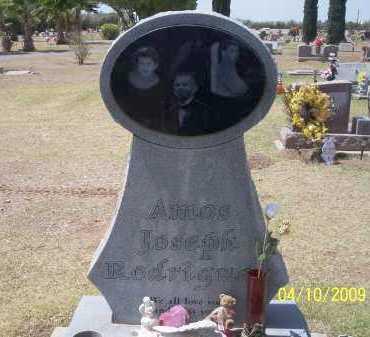 RODRIGUEZ, AMOS JOSEPH - Pinal County, Arizona | AMOS JOSEPH RODRIGUEZ - Arizona Gravestone Photos