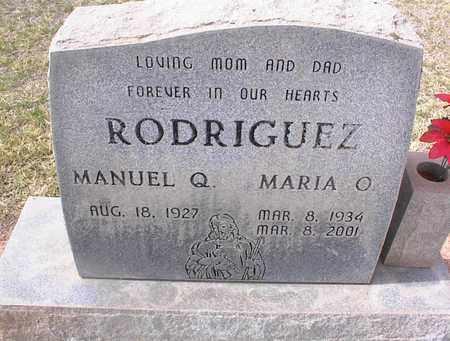 RODRIGUEZ, MANUEL Q. - Pinal County, Arizona | MANUEL Q. RODRIGUEZ - Arizona Gravestone Photos