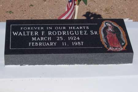 RODRIGUEZ, WALTER F. SR - Pinal County, Arizona | WALTER F. SR RODRIGUEZ - Arizona Gravestone Photos