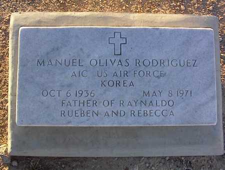 RODRIQUEZ, MANUEL OLIVAS - Pinal County, Arizona | MANUEL OLIVAS RODRIQUEZ - Arizona Gravestone Photos