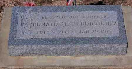 RODRIQUEZ, RONALD KEITH - Pinal County, Arizona | RONALD KEITH RODRIQUEZ - Arizona Gravestone Photos