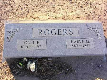 ROGERS, HARVE M. - Pinal County, Arizona | HARVE M. ROGERS - Arizona Gravestone Photos