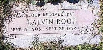ROOF, GALVIN - Pinal County, Arizona | GALVIN ROOF - Arizona Gravestone Photos