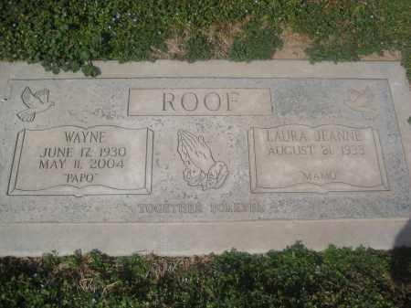 ROOF, LAURA JEANNE - Pinal County, Arizona   LAURA JEANNE ROOF - Arizona Gravestone Photos