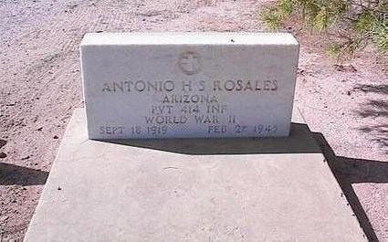 ROSALES, ANTONIO H.S. - Pinal County, Arizona | ANTONIO H.S. ROSALES - Arizona Gravestone Photos
