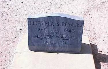 ROSALES, RUDESINDA S. - Pinal County, Arizona | RUDESINDA S. ROSALES - Arizona Gravestone Photos