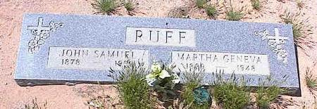 RUFF, JOHN SAMUEL - Pinal County, Arizona | JOHN SAMUEL RUFF - Arizona Gravestone Photos