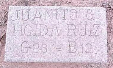 RUIZ, HGIDA - Pinal County, Arizona   HGIDA RUIZ - Arizona Gravestone Photos