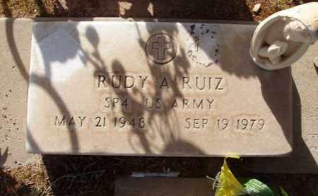 RUIZ, RUDY A. - Pinal County, Arizona | RUDY A. RUIZ - Arizona Gravestone Photos