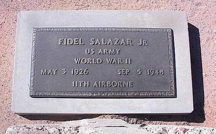 SALAZAR, FIDEL, JR. - Pinal County, Arizona | FIDEL, JR. SALAZAR - Arizona Gravestone Photos