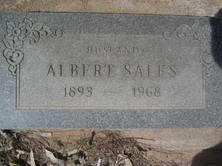 SALES, ALBERT - Pinal County, Arizona | ALBERT SALES - Arizona Gravestone Photos