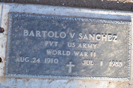 SANCHEZ, BARTOLO V. - Pinal County, Arizona | BARTOLO V. SANCHEZ - Arizona Gravestone Photos