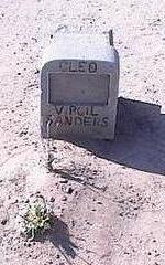 SANDERS, CLEO VIRGIL - Pinal County, Arizona | CLEO VIRGIL SANDERS - Arizona Gravestone Photos
