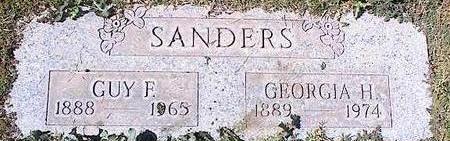 SANDERS, GUY E. - Pinal County, Arizona | GUY E. SANDERS - Arizona Gravestone Photos