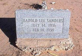 SANDERS, HAROLD LEE - Pinal County, Arizona | HAROLD LEE SANDERS - Arizona Gravestone Photos