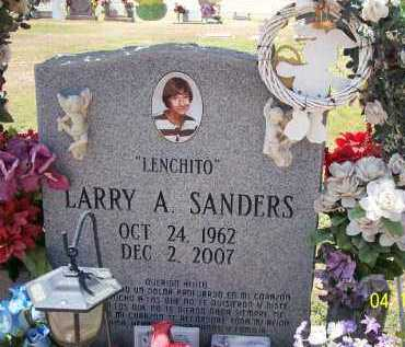 "SANDERS, LARRY A. ""LENCHITO"" - Pinal County, Arizona 