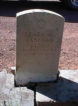 SANFORD, EARL A. - Pinal County, Arizona | EARL A. SANFORD - Arizona Gravestone Photos