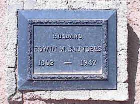 SAUNDERS, EDWIN M. - Pinal County, Arizona | EDWIN M. SAUNDERS - Arizona Gravestone Photos