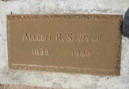 SAWYER, ALLEEN R. - Pinal County, Arizona | ALLEEN R. SAWYER - Arizona Gravestone Photos
