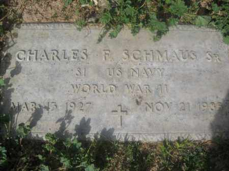 SCHMAUS, CHARLES F. - Pinal County, Arizona | CHARLES F. SCHMAUS - Arizona Gravestone Photos