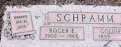 SCHRAMM, ROGER E. - Pinal County, Arizona | ROGER E. SCHRAMM - Arizona Gravestone Photos
