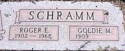 SCHRAMM, GOLDIE M. - Pinal County, Arizona | GOLDIE M. SCHRAMM - Arizona Gravestone Photos