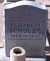 LUICER SCHULZE, ELIZABETH - Pinal County, Arizona | ELIZABETH LUICER SCHULZE - Arizona Gravestone Photos
