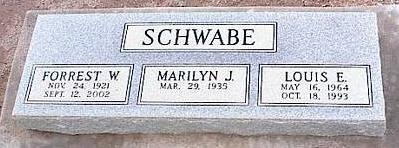SCHWABE, LOUIS E. - Pinal County, Arizona | LOUIS E. SCHWABE - Arizona Gravestone Photos